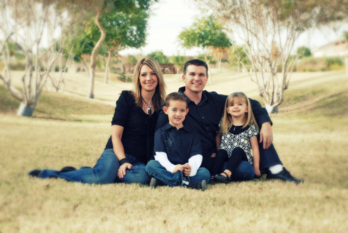 Gilbert Chiropractor and family
